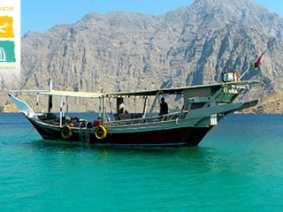 Musandam Dhow cruise with transportation for AED 150