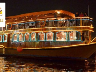 Dhow cruise Dinner by Royal Eagle tourism AED 59