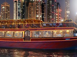Dhow Cruise Creek by Travel Guide Tourism starts from AED 59
