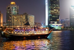 Dhow Cruise Dinner at Marina by Travel Guide Tourism starts from AED 119