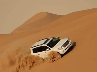 Desert Safari with Transportation by Travel Guide Tourism for AED 119