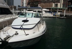 Luxury Yacht rental at District Marine Services(33 FT)  starts from AED 294