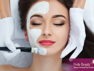 Anti Ageing Facial with Manicure at Perle Beauty Center