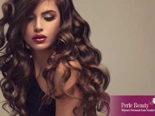 Hair Treatment for Perle Beauty Center for AED 400