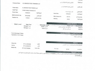 Technical services  contracting  company for sale in Dubai m