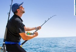 4 hours Deep Sea Fishing trip  for 10 only at AED 1199
