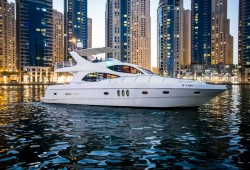 3 hours of yacht rental(60 FT) for AED 1962 - District Marine Services