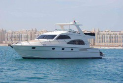 3 hours yacht rental(52FT) from District Marine Services for AED 1797
