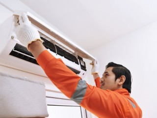 Air conditioning service for 1BHK apartment by Sabir maintenance