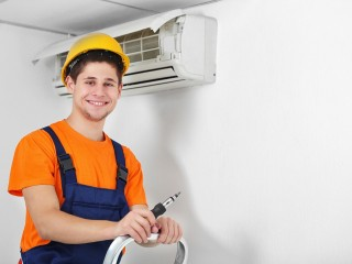 Air conditioning service by sabir maintenance for 2 BHK