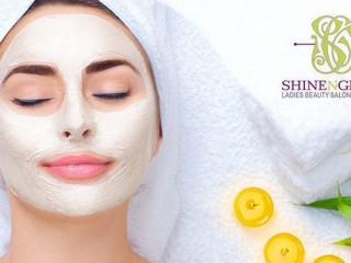 Gold Facial at Shine N Glow Beauty Salon for AED 75
