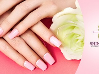 Spa Manicure at Shine N Glow Beauty Salon for AED 40