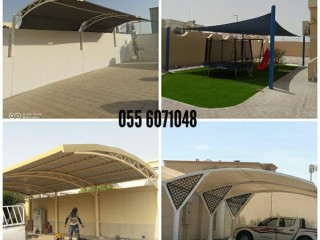 Customized parking and sail shadeS
