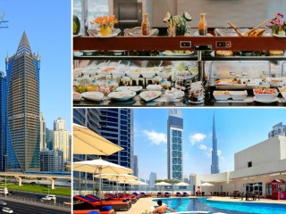 Friday Brunch Buffet with free Pool Access Just for AED 69 Only