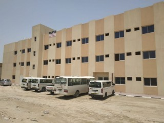 Labor Camp with seperate kitchen,washroom and laundry room in ajman industrial area