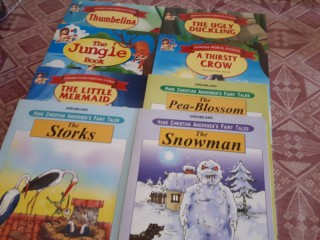 Story books for kids at AED 2 each