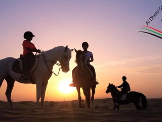 Desert Horse Riding with Al Dhabi Group starts from AED 179