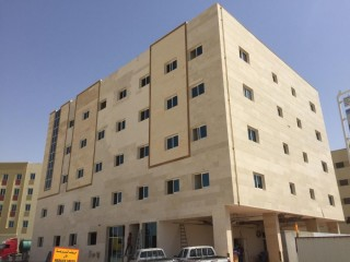 Jebel ali Labour camp 115 rooms 481 person capacity for rent