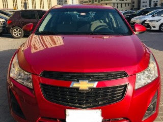Chevrolet Cruze 2013 - Red color - 81,000 kms in very good condition