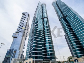 Jumeirah Bay X3 | Fitted office | Island view