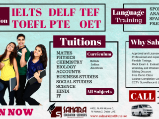 Educational Institute in Dubai - Tuitions - Language Courses