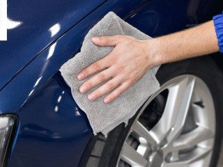 Car detailing works for sedan car by Naoufer Garage for AED 139