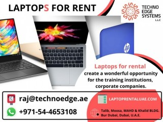 Save money with Laptops for Rent, in multiple ways!