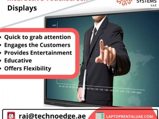 We offer a wide range of Touch Screen Rental in Dubai