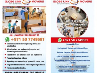 PACKERS &MOVERS IN UAE 050 7766529 / 06 5657748