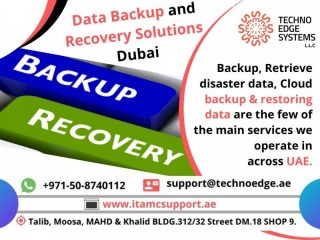 Types of Data Backup and Recovery Solutions Dubai