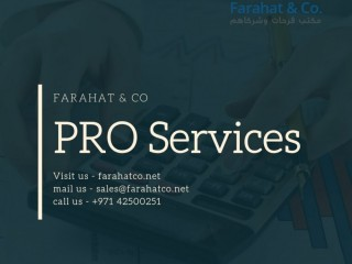 Looking for PRO services in UAE Dubai