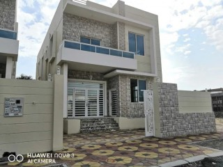 Modern villa super deluxe finishing and excellent location very close to Ajman Academy and close to schools and Carrefour