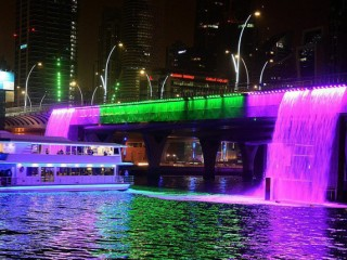 2 Hours of Catamaran Dubai Water Canal Cruise for AED 99