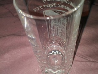 Crystal Glass with Beautiful Design