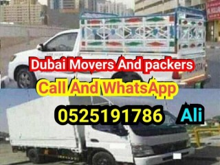 Dubai Movers and packers call 0525191786 Ali