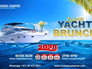 Luxury Yacht Brunch 2020 Offers - Dubai Marina
