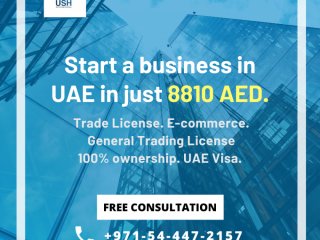 Trade License in UAE – up to 10 Visas - #0544472157