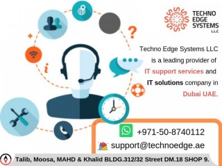 Get Professional IT Support Services in Dubai