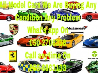 AM LOOKING TO BUY CARS,055 6863133- USED DAMAGE ACCIDENT JUNKS
