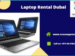 Laptop Rental in Dubai at VRS Technologies