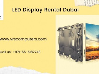 Big LED screen Rentals for Seminars in Dubai