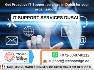 IT Support Services Dubai – IT Support & IT Solutions in UAE