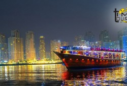 Dhow cruise Marina by Time tourism for AED 99
