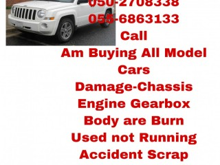 AM CARS BUYER 055 6863133 USED DAMAGE SCRAP USED ALL MODEL