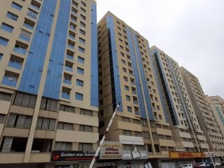 1 bhk with parking and 12 cheques in Garden City Ajman Save