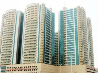 Studio in Horizon tower for rent open view 669sfft 630sqft in ajman UAE