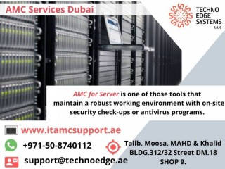 AMC for Servers for your Industrial in Dubai,UAE