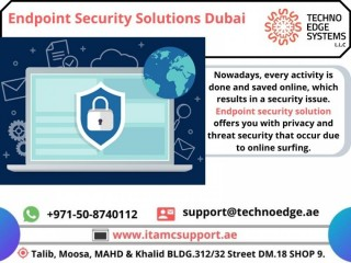 How Endpoint Security Solutions Dubai Works?