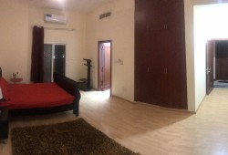Furnished master bedroom in Al safa 2 near noor metro