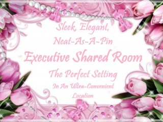 Sleek, Elegant, Neat-As-A-Pin Executive Shared Room, The Perfect Setting In An Ultra-Convenient Location